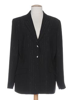 francois favel vestes femme de couleur noir