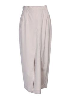 ecru jupes femme de couleur beige
