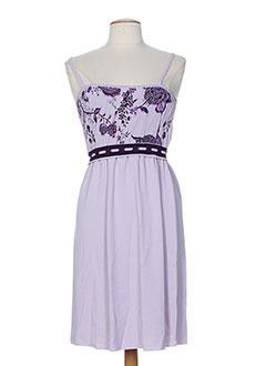 she's so robes femme de couleur violet
