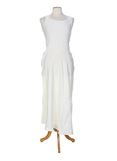 she's so robes femme de couleur blanc