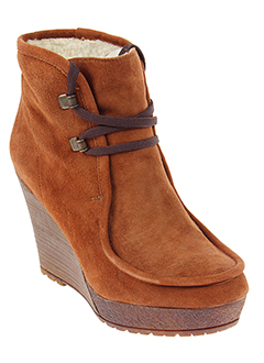 bee et fly boots femme de couleur marron