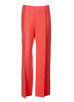 weill pantalons et citadins femme de couleur orange