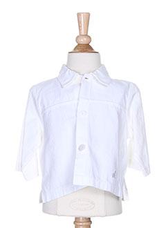 lapin bleu vestes fille de couleur blanc