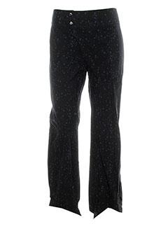 tcheka pantalons femme de couleur noir