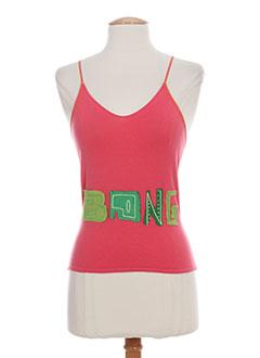aldo martin's t-shirts / tops femme de couleur rose