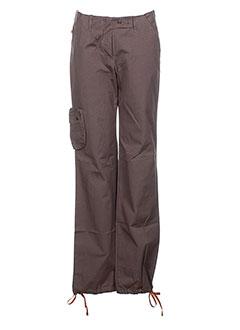 sessun pantalons femme de couleur gris