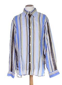 europann chemises homme de couleur bleu