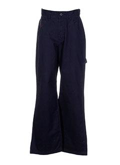 hawk pantalons garçon de couleur noir