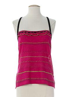 garella chemises femme de couleur rose