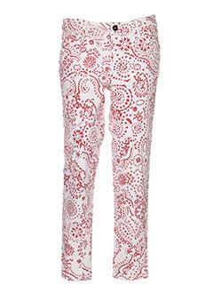 not the same jeans femme de couleur rouge