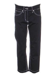 cappopera jeans pantacourts femme de couleur noir