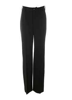 leone pantalons femme de couleur noir