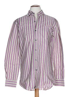 Chemise manches longues violet PAUL SMITH pour homme