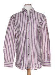 Chemise manches longues violet PAUL SMITH pour homme seconde vue