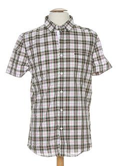 bikkembergs chemises homme de couleur vert
