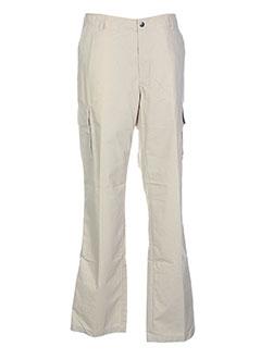 gant pantalons et decontractes homme de couleur beige