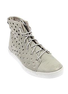volcom baskets femme de couleur gris
