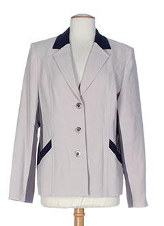 Veste chic / Blazer beige KARTING pour femme