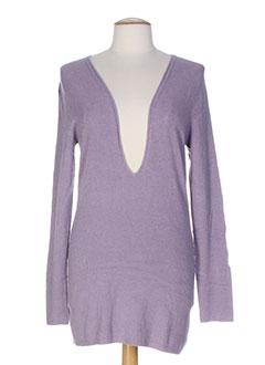 lauren vidal pulls femme de couleur violet