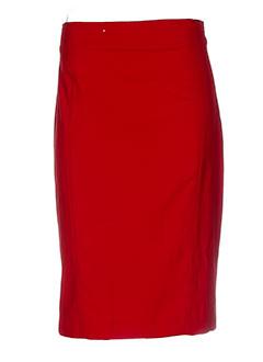 isabel de pedro jupes femme de couleur rouge