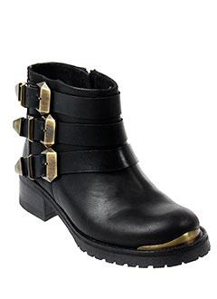 pastelle boots femme de couleur noir