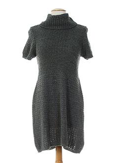 antonello serio robes femme de couleur gris