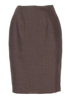 gregory pat jupes femme de couleur marron