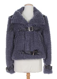 nathalie chaize vestes femme de couleur gris