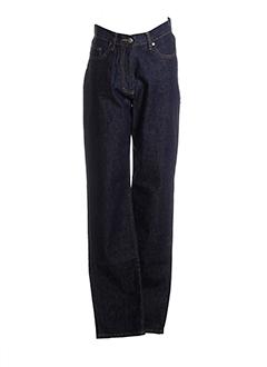 jost jeans femme de couleur bleu