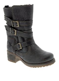 republyka boots unisexe de couleur marron