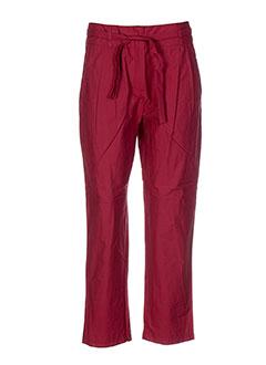 lilith pantalons et citadins femme de couleur rouge