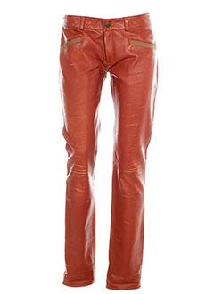 rose et anna pantalons et citadins femme de couleur orange