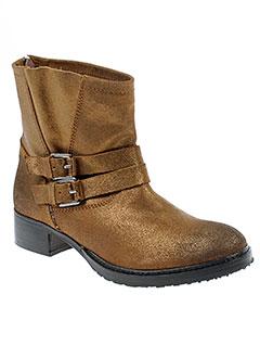 any et boots boots femme de couleur marron