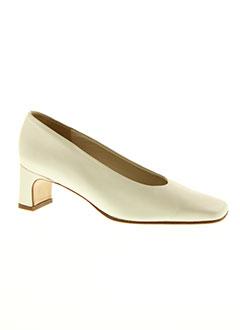 feeling chaussures femme de couleur blanc