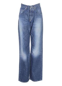 CHEFDEVILLE Jeans Jeans bootcut de couleur bleu en soldes pas cher 638778 bleu00 Modz