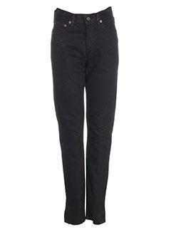 levis pantalons et decontractes femme de couleur noir