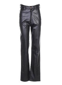 tark'1 pantalons femme de couleur noir