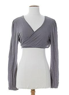 chipie vestes femme de couleur gris