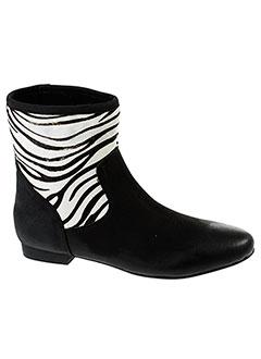 ephemere et for et ever boots femme de couleur noir