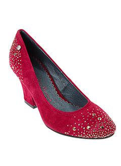 couleur et pourpre escarpins femme de couleur rouge