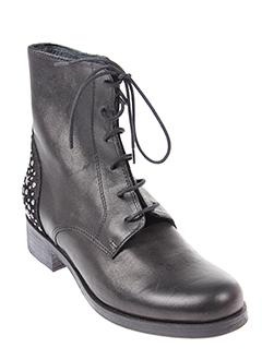 morena et gabbrielli bottines femme de couleur noir