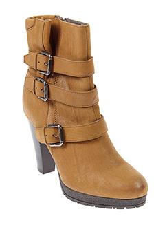 janet et sport boots femme de couleur marron