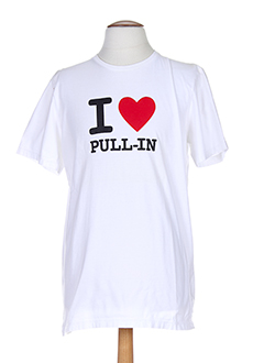 pull in t-shirts homme de couleur blanc