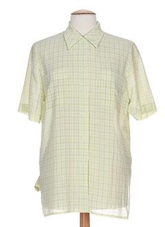 jean christophe.g chemises femme de couleur vert