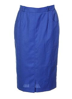 erica rossler jupes femme de couleur bleu