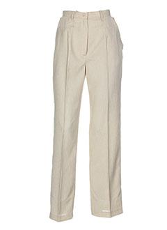 dix sur dix pantalons femme de couleur beige