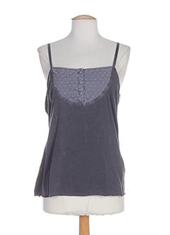 college chemises femme de couleur gris