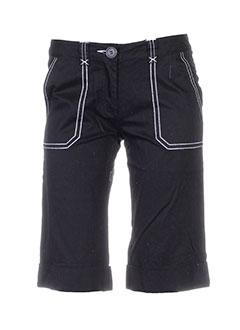 college shorts / bermudas femme de couleur noir