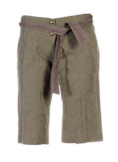 les petites collections shorts / bermudas femme de couleur vert