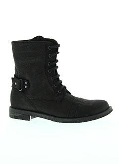reqins boots enfant de couleur noir